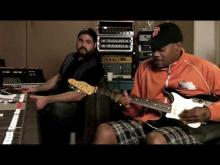 Eric Gales Recording With Mike Varney